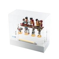 월드 콜렉터블 미니 피규어용 아크릴 상자 h330wbl