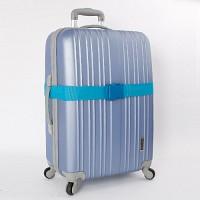 컬러 여행가방벨트 - 블루
