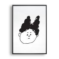 뇽뇽 증명사진 / 일러스트 액자
