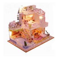 [adico]DIY 미니어처 하우스 - 스위트 핑크 로프트