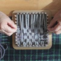 HAGT 양말목 공예 DIY 키트 SET 직조틀 제공 양말공예