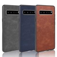 갤럭시 빈티지 심플 가죽 실리콘 범퍼 휴대폰 케이스