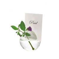 Glass Round Vase Notes Hoder