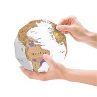 DIY 3D 스크래치 세계지도 지구본