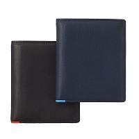 [천연송아지가죽] 지갑 미니 포인트 2 Color [O1280]