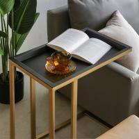 밀란 사각 사이드 테이블