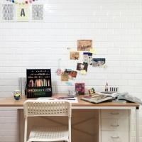 퍼니월 욕실&주방 붙이는타일 요거트 (3Color)