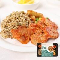 [허닭] 잡곡밥 도시락 씨앗귀리밥&동그랑땡 1+1