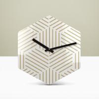 리플렉스 라인아트 헥사곤 무소음벽시계 HEX44