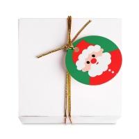 [인디고샵] 산타 아이콘 원형 [텍] (10개)