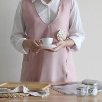 [콩지] 데일리 코싸지 숄더 앞치마