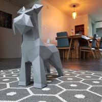 [톰텐] 페이퍼크래프트 페이퍼크래프트 슈나우져 Papercraft Schnauzer