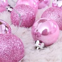 믹스볼장식세트 24개입 (핑크) - 4cm