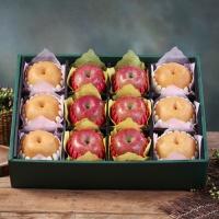 [과일농산]진품 사과 배 혼합세트 7.5kg (사과6과+배6과)