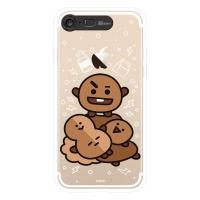 BT21 iPhone8 /7 슈키 클리어 라이팅 케이스 (SOFT)