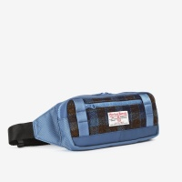 [sweetch] WAIST BAG X HARRIS TWEED Navy