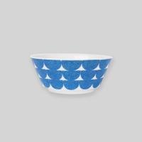 Ocean blue wave bowl M
