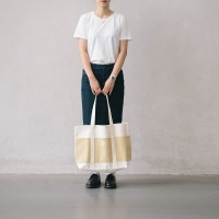shopper bag ivory