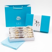 [추석선물] 시루아네 추석 2호 선물세트(60g, 25개,)보자기+쇼핑백 포함