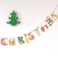 숲속 친구들과 즐거운 메리크리스마스 가랜드