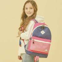 [하이시에라] 샤크 - 핑크네이비 초등학생 소풍가방