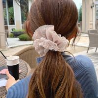 레이스 스크런치 곱창 머리끈
