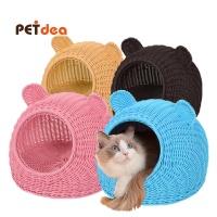 펫디아 라탄 고양이 하우스