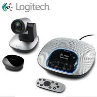 logitech 로지텍 컨퍼런스 웹캠 CC3000e (화상 회의 / 칼자이스 AF 렌즈 / 10배 광학 줌 / 노이즈 차단 마이크 / 다기능 리모컨 / 좌우 90도 화각 / 블루투스 지원 / 화상카메라 )