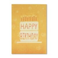 홀마크 생일 축하 카드(2단케이크)-KED2215
