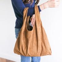 심플 스웨이드 에코 쇼퍼백 가방