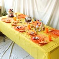 파티테이블셋팅패키지(6인용)- 옐로우&오렌지