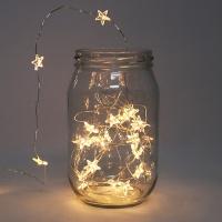 [인디고샵] 미니 반짝이는 별 LED 조명 가랜드