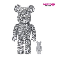 400%+100%BEARBRICK KEITH HARING #4 (1910007)
