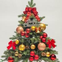 60cm 꼬깔 산타 장식세트