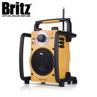 [브리츠] 캠핑용 유,무선스피커 BE-MC300 (생활방수 / 스마트폰 & MP3 등 외부입력단자 & 마이크 & 헤드폰 단자 / 라디오 / LED)