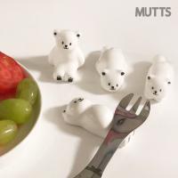 머츠샵 곰 수저받침대/주방소품