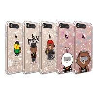 라인프렌즈 iPhone 7 BEAT BROWN 2 Lighting CASE