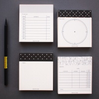 TIME FRAME SCHEDULE PAD -S