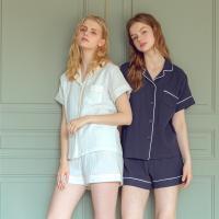 Angel 라인배색 투피스잠옷 잠옷세트
