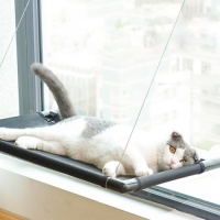 갓샵 꿀잠 고양이창문해먹 최대 20kg 윈도우 냥이침대