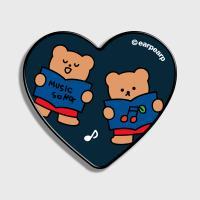 Music song bear-navy(하트톡)