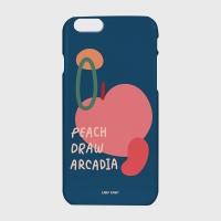 [어프어프] 하드/터프/슬라이드 Peach draw-navy