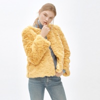 LIZ cocktail jacket_yellow