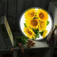 nd581-LED액자35R_풍수밝은기운해바라기_LED사인