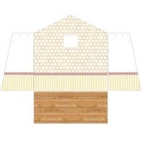 [바우하우스] 하얀 벽지 HA-11(꿈의 공부방 벽지)