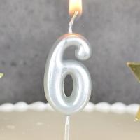 숫자초 실버 6