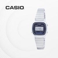 카시오 빈티지 메탈 전자 여성 손목시계 LA670WA-2