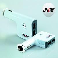 유니모비 4포트 6.8A 차량용 USB 급속충전기 UM-C6800