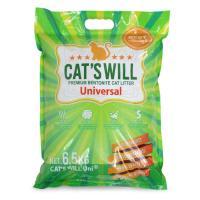 캣츠윌 고양이 모래 유니 6.5kg 3포대 세트