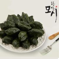 [한산모시락] 달고개 모시잎 생 송편 1.2kg(25개)